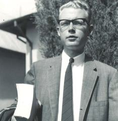 Doug beginning first semester '64 at TMS