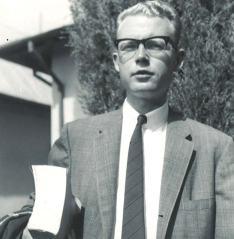 Doug beginning first semester '64 at TMS