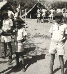 TMS Boy Scouts at Lake Langano
