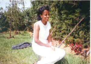 Almaz Before Her Marriage To Tesfagiorgis