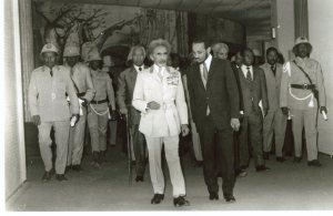 Walking With His Imperial Majesty