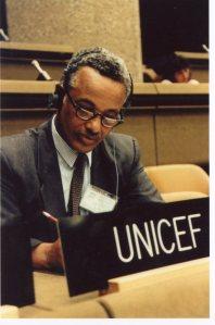 Representing UNICEF
